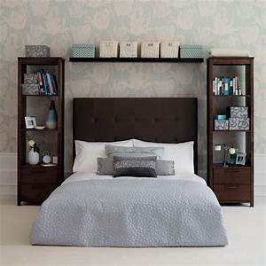 Modern furniture 2014 clever storage solutions for small for Bedroom shelving ideas