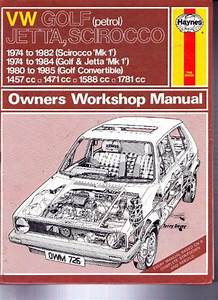 View Topic  Workshop Manuals For The Vw Golf Mk1 All