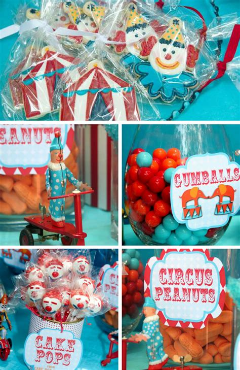 Circus Party Inspirations Birthday Party  Ee  Ideas Ee   Themes