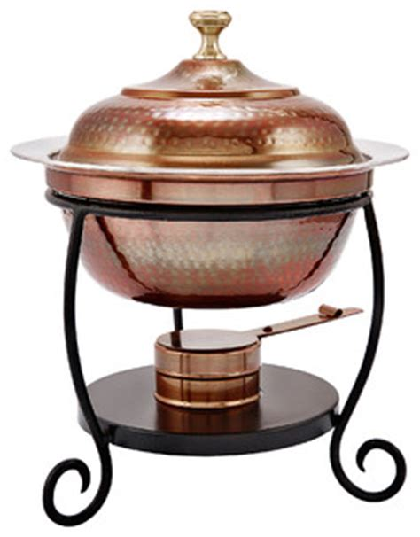 antique copper chafing dish traditional chafing dishes   dutch