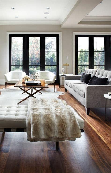deco salon avec canape gris couleur parquet salon meilleures images d 39 inspiration