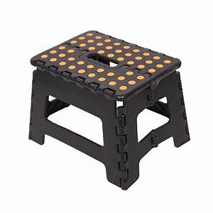 Karmas, Product, 8, 5, U0026quot, Folding, Step, Stool, With, Handle, For, Adult, And, Kids, Kitchen, Garden, Bathroom