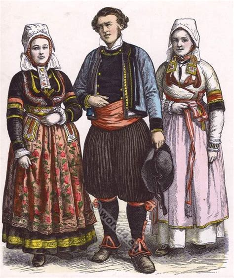 Folk Style Pictures by Traditional Clothing In Historical