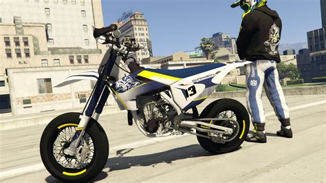 Husqvarna Fe 501 4k Wallpapers by Husqvarna 701 100 Bitume Livery With Sound Gta5 Mods