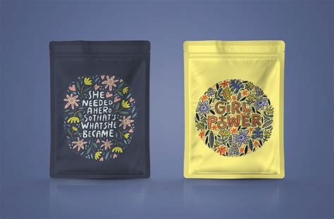 The best free psd packaging mockups we've found from the amazing sources. Pouch Packaging Mockup | Mockuptree