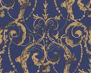 Barock tapeten gunstig online kaufen i billigerluxus for Balkon teppich mit rasch tapeten barock