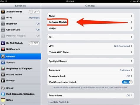 iphone software no software update section in settings what to do