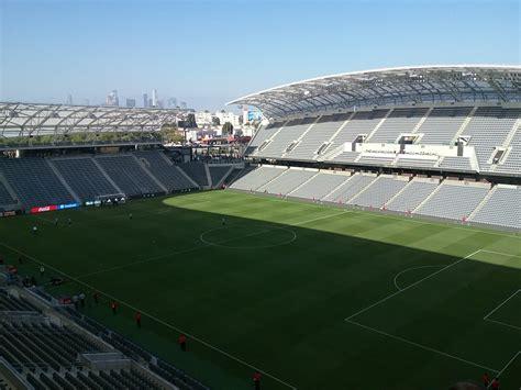 Banc Of California Stadium  Los Angeles Fc  Stadium Journey