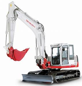 Takeuchi Compact Excavator Tb1140 Factory Service  U0026 Shop Manual