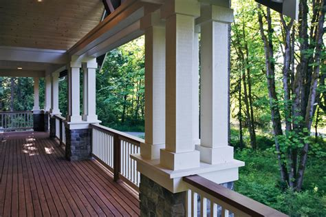 house plans with large front porch craftsman house plans with large porches home design and