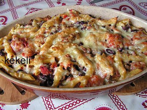 temps de cuisson gratin de pates recette de gratin de p 226 tes 224 la mexicaine par kekeli