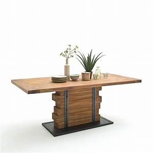 Moderne Küchen Aus Massivholz : design s ulen esstisch chicola aus teak ~ Sanjose-hotels-ca.com Haus und Dekorationen