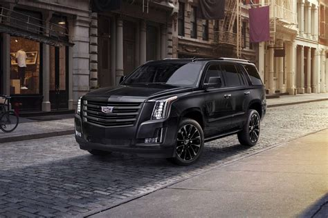 2019 Cadillac Escalade Gets Blacked-out Sport Edition