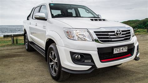 Toyota Of The Black by 2015 Toyota Hilux Review Black Edition Photos Caradvice