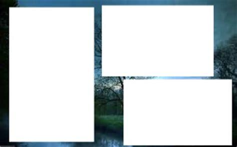 montage photo 3 cadre a paysage pixiz
