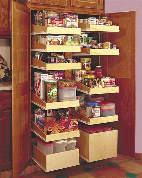 pantry pull out shelving home ideas