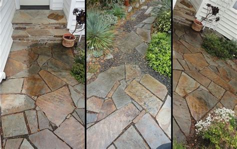 1000 ideas about flagstone on flagstone path