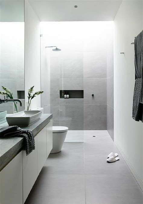 Moderne Badezimmer Fliesen Grau by Modern Bathroom Different Possible Styles Of Covers