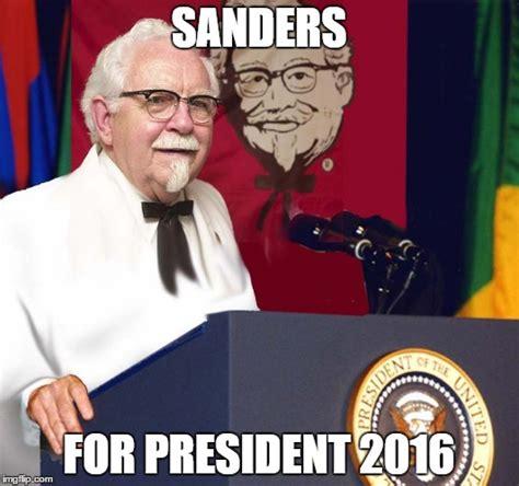 Funny President Memes - sanders for president imgflip
