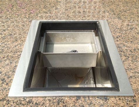bull drop  ice chest affordable outdoor kitchens
