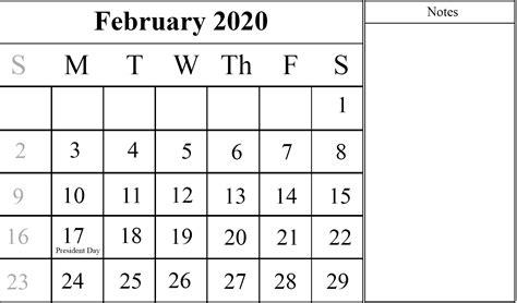february calendar printable templates excel word