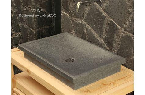 vasque en pierre granit de salle de bain  poser dune