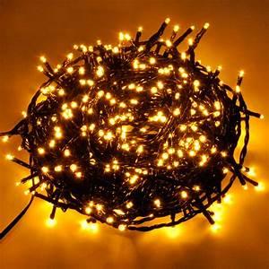 Led Lichterkette Außen Warmweiß : led lichterkette 300 led golden warmweiss kaltweiss innen au en weihnachten ebay ~ Eleganceandgraceweddings.com Haus und Dekorationen