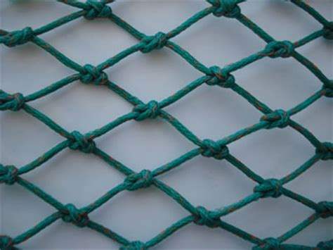 polyethylene netting twisted  braided commercial fishing supplies