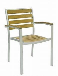 Fauteuil Bois Exterieur : fauteuil bois alu exterieur chaise et bridge d 39 ext rieur ref z8995 mobiliers ephad et ~ Melissatoandfro.com Idées de Décoration