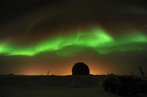 dazzling northern lights displays from solar wind