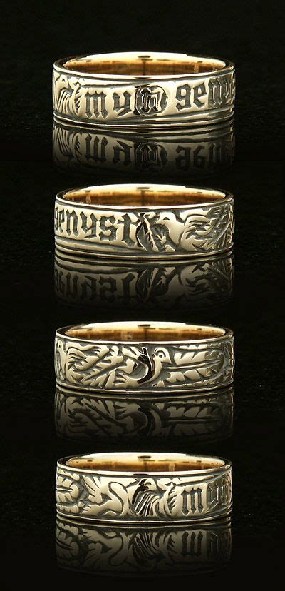 unique wedding rings  heart  soul  spirit