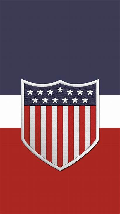 Soccer Usa Iphone Phone Usmnt Crest Wallpapers