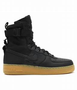 60% OFF on Nike Air Force One High Lifestyle Black Casual