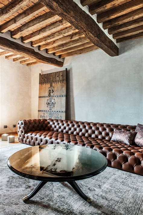 rustic modern home  italy  impossibly luxurious