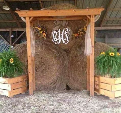 ideas  rustic wedding arches  pinterest