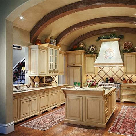 spacious kitchen traditional home
