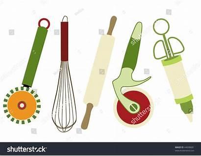 Utensils Kitchen Vector Illustration Illustrations Shutterstock Vectors