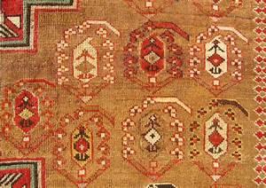 Ah 1335  1916 Ad  Dated Antique Baku Khila  Chila  Rug
