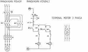 All About Science  Pengendalian Motor Induksi 3 Fasa Forward Reverse Secara Manual