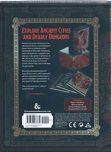 Dungeons  U0026 Dragons 5th Edition Core Rulebooks Gift Set
