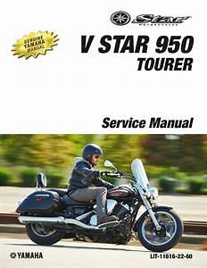 Yamaha Motorcycle V Star 950 Workshop  U0026 Repair Manual