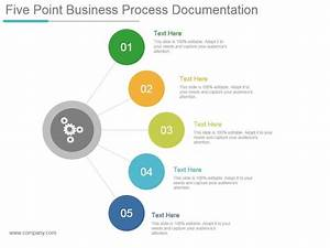 Five Point Business Process Documentation Powerpoint