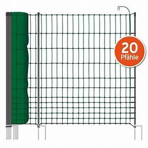 Zaun 150 Cm Hoch : 50m netz 112cm 2 spitzen gr n inkl 20 pf hl ~ Whattoseeinmadrid.com Haus und Dekorationen
