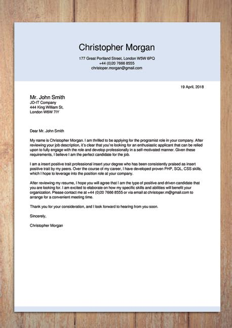 Cover Letter Creator by Cover Letter Maker Creator Template Sles To Pdf
