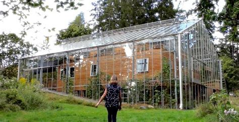 swedish couple constructs  greenhouse   home