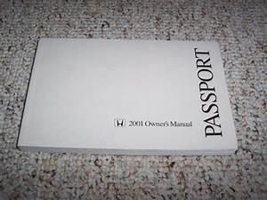 2001 Honda Passport Suv Owner Owner U0026 39 S Manual User Guide