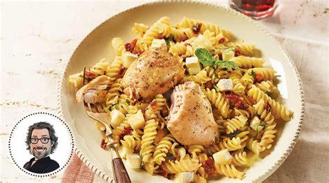 des pates au poulet p 226 tes au poulet express 224 l italienne