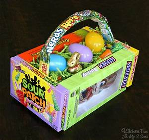 DIY Candy Easter Basket - Kitchen Fun With My 3 Sons