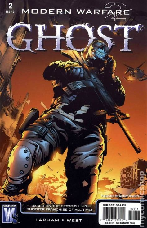 modern warfare  ghost  dc comic books