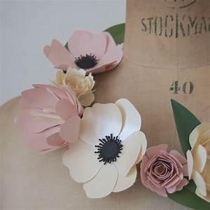 Fleur De Papier : ma couronne de fleurs rose caramelle carnet d 39 inspiration ~ Farleysfitness.com Idées de Décoration